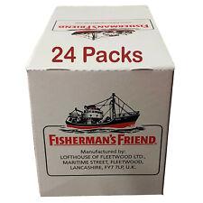 Fisherman's Friend Original Menthol & Eucalyptus Lozenges Sweets 24 Packs
