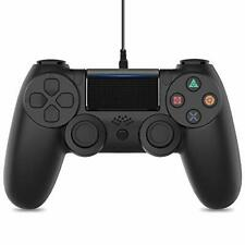 PS4 Controller, Vinsic Wired Gamepad Joystick Controller for PlayStation 4, Dual