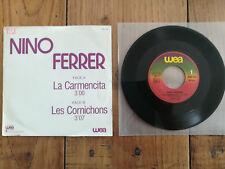 NINO FERRER 45 TOURS LA CARMENCITA WEA PRO 184 PROMO RARE