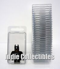 MINI BLISTER CASE LOT OF 25 Action Figure Display Protective Clamshell X-SMALL