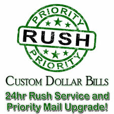 24HR RUSH SERVICE on to your Current Order! PLUS SHIPPING TIME