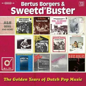 Bertus Borgers & Sweetd' Buster - The Golden Years Of Dutch Pop  2-cd