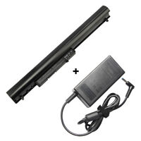Battery/Charger for HP Pavilion 14 15 TouchSmart Serie 776622-001 775625-221 Lot