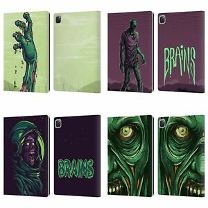 HEAD CASE DESIGNS ZOMBIES LEATHER BOOK CASE FOR APPLE iPAD