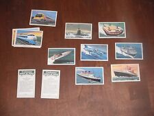 Embassy World of Speed full set of 36 of 36 Wills Cigarette cards