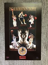 Jimmer Fredette BYU Cougars 11x17 Oscar Robertson poster POY 2010-2011