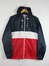 Waist Length Nylon Hooded Unbranded Coats & Jackets for Men