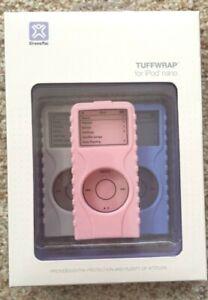 TUFFWRAP IPOD NANO CASES GRAY PINK Lavender XtremeMac Set 3