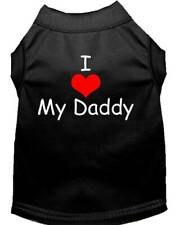 Mirage Pet Products - I Love My Daddy Dog Shirt Sizes XS-3X