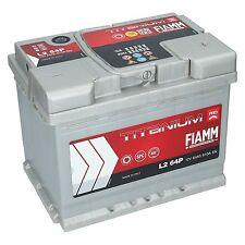 Autobatterie FIAMM TITANIUM PLUS 12V 64Ah 610A/EN PREMIUM BATTERIE