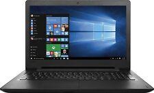 """New Lenovo Ideapad 110 15.6""""HD Intel N3060 2.48GHz 4GB 500GB USB3.0 DVDRW W10 1Y"""