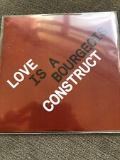 "PET SHOP BOYS ""LOVE IS A BOURGEOIS CONSTRUCT""  7 TRACK CD PROMO MINT CONDITION"