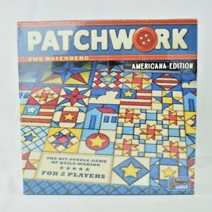 Lookout Games - Patchwork Americana Edition - Quilt Making Puzzle Game (New)