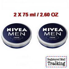 2 X 75ml / 2.60 oz NIVEA MEN CREME body, face & hand care