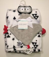 Baby Gear Blanket With Owl Security Blanket Lovey 30 in x 36 in New