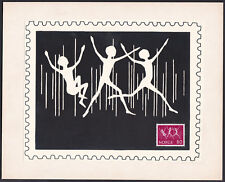 Norway Sc592 INTERJUNEX 72, Youth Stamp Exhibition, Joy, Proof, Essay