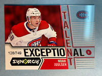 2018-19 Upper Deck Synergy Exceptional Talent RC #35 Noah Juulsen 128/749 Rookie
