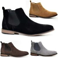 Mens Desert Boots Suede Casual Chelsea Walking Chukka Ankle Fashion Boots Shoes