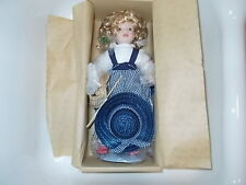 "New Porcelain Doll Brenda Hope Morgan Brittany Earth Angel 12"" MB-93122"