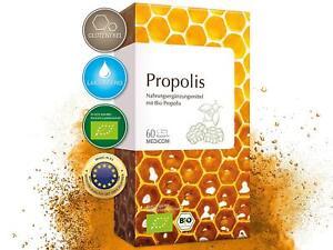 Bio Propolis Kapseln mit 400 mg gereinigter Bio Propolis