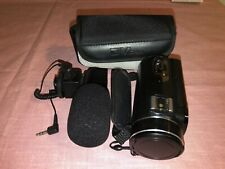 NEW DIGITAL VIDEO CAMERA RECORDER WITH EXTRA MIC AND CASE