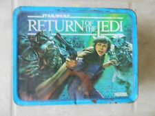 Vintage 1983 Star Wars Return of The Jedi Metal Lunch Box no thermos