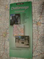 AAA CHATTANOOGA TENNESSEE TN Travel RoadMap Vacation ROAD MAP 2017 FREE SHIP!