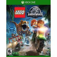 LEGO JURASSIC WORLD XBOX ONE NEW! DINOSAUR FUN ACTION! FAMILY GAME PARTY NIGHT 0