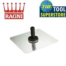 "Ragni R912 12""X 12"" Feather Edge Circular Grooved Aluminium Plasterers Hawk R912"