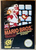Super Mario Bros Nintendo NES CIB Rare 1985 Wata VGA Ready Very Nice Condition