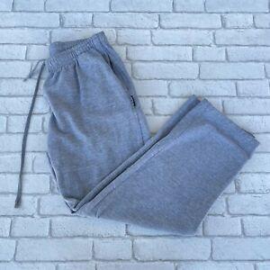 Fila Vintage Mens Sweatpants XL Tracksuit Bottoms Trousers Track Pants Grey
