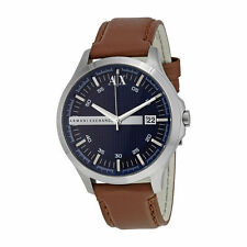 Armani Exchange Leather Mens Watch AX2133