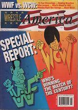 Wrestle America Winter 1996 WWF Vs WCW Special Report VG 122315DBE