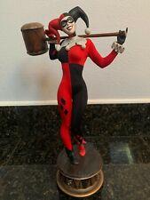 Harley Quinn Sideshow Premium Format Statue Figure Batman Joker w/ Box #1509 NM