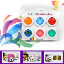 6Pcs Color Filters Close up Lens Set For Fujifilm Instax Mini 7s 8 9 Film Camera