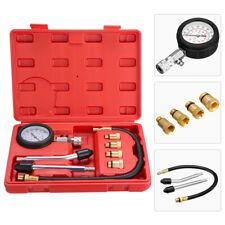Petrol Gas Engine Gauge Cylinder Compression Tester Kit Car Automotive Diagnosti