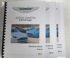 ASTON MARTIN V8 VANTAGE WORKSHOP MANUAL A4 FULL COLOUR ISSUE 8 - 05 TO 13 MODELS