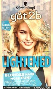 Schwarzkopf Got2b Be En-Lightened 00A Heavenly Blonde Hair Color