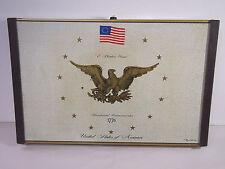 Vintage Atlantic Eagle 1776 Warm-O-Tray Electric Food Warmer Tray 8x7