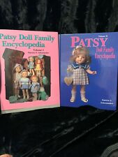 Patsy Doll Encyclopedia Vol 1 And 2 By Patricia Schoonmaker Book