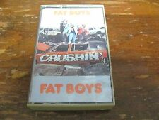 FAT BOYS CRUSHIN' cassette tape USA Polygram Records 422 VERY GOOD