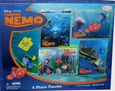 Disney Pixar Finding Nemo 4 Photo Puzzles 100 Pieces 2009 Factory Sealed NEW