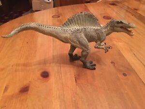 "2007 Spinosaurus 12"" Papo Action Figure Moving Jaws Jurassic Park Dinosaur"