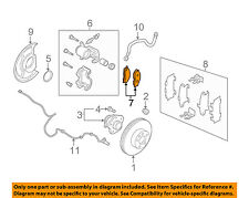 NISSAN OEM 04-09 Quest Brake-Rear Pads 440608H385