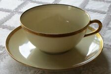 Vintage Black Knight China Theresa Gold Encrusted Cup & Saucer