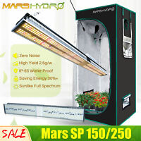 Mars Hydro SP 150 250 400W LED Grow Light Strip Full Spectrum for Indoor Plants