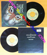 LP 45 7'' TALK TALK Living in another world For what it's worth no cd mc dvd *