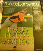 Dylan Bundy SIGNED 4/16/2012 Orioles Baseball America AUTOGRAPH No-Label Angels