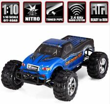 1/10 SCALE REDCAT RACING CALDERA 3.0 BLUE NITRO REMOTE CONTROL TRUCK 2 SPEED RTR