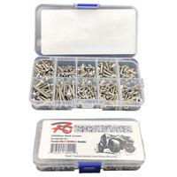 387 pcs/set Stainless Steel Screw Kit For 1/10 RC Car Traxxas TRX-4 Crawler